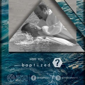 Were you baptized