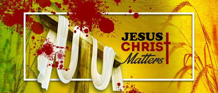 Jesus Christ Matters - 2019 FB-Cover-Gold