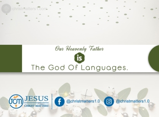 God of Languages