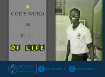 God's word is full of life